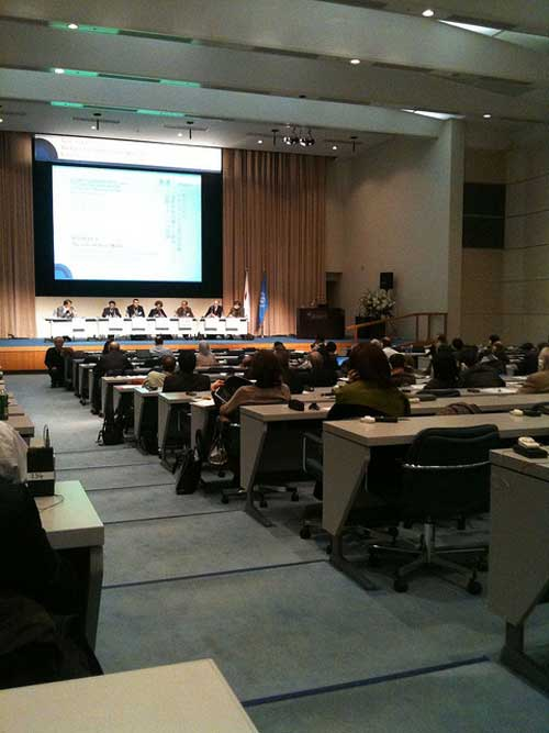 Figure 20. Delegates at the IOC-UNESCO Symposium.  © Patrick Corcoran